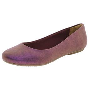 Sapatilha Feminina Púrpura Via Marte - 166004