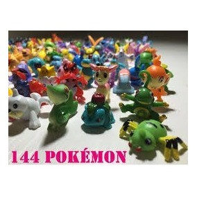144 Miniaturas Pokemon A Pronta Entrega