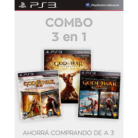 God Of War Collection Ps3 Y Ascension Combo Dixgamer