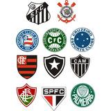 Adesivo Varios Time Brasileiro De Futebol