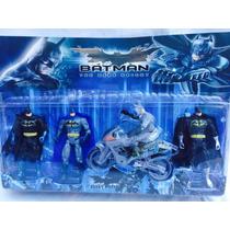 Brinquedo Do Batman Kit Com 4