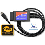 Escaner Automotriz Elm327 Usb + Full Programas 2017 Pc Gg1