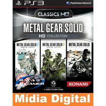 Metal Gear Solid Hd Collection - Original -[*jogos Ps3 Psn*]