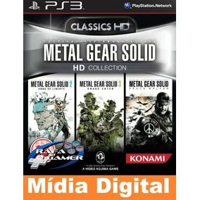 Metal Gear Solid Hd Collection - Original -[*jogos Ps3 Psn*]