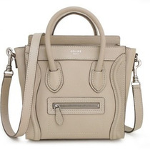 Belissima Bolsa Chique Céline Luggage Bege De Luxo !!