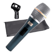 Microfone Com Fio Tipo Sennheiser Voz Kadosh K98 Original