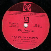 Bob Christian - Adios Sam Hola Samantha Billy Bond Beat Pvl