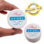 Gel Uv Acrygel Construtor De Unhas 15g Pink White Manicure