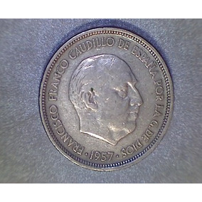 Lucas Col España Moneda 50 Peseta 1957 [58]
