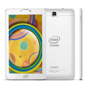 Tablet Qbex M721s 4gbs 2mp 3g Android 4.4 Intel Branco