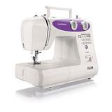 Máquina De Costura Confiance Jx-6000 - Branca-lilás