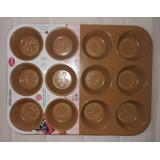 Molde Para Muffins 12 Cavidades Vasconia