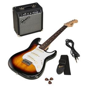 Paquete Guitarra Fender Squier 3/4 Infantil Con Envio Gratis