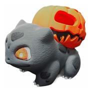 Figura Bulbasaur Halloween Pokemon Impresión 3d