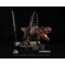T-rex Breakout Diorama - Jurassic Park - Chronicle Collectib