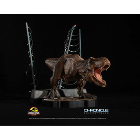 T-rex Breakout Diorama - Jurassic Park - Chronicle Collectib