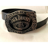 Fivela Jack Daniel's Motociclista + Cinto