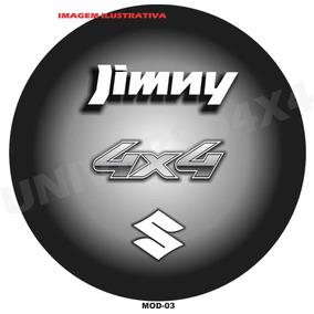 Capa Estepe Jimny, Suzuki, Couro Sint, Pneu 215x75x15, M-03