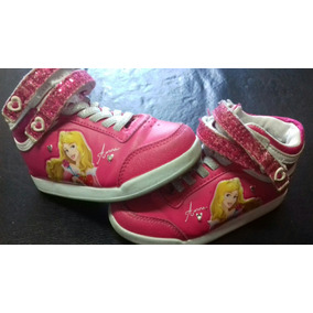 Zapatillas Botitas Addnice Princesa Aurora Con Luces
