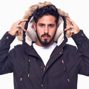 Customs Ba Camperas Hombre Parka Corderito Parkas Campera Bo