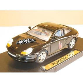 Porsche 911 996 Negro 1/18 Motormax