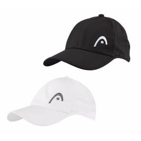 Gorra Para Tenis Padel Head Pro Player Original Blanco Negro