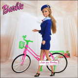 Bicicleta Para Boneca Barbie * Monster High * Susi * Ken !
