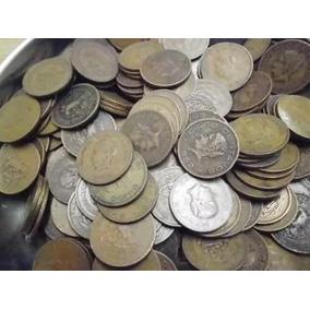 Un Kilo Monedas 5 Centavos Josefa Grande Cobre Envió Gratis