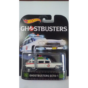 Hot Wheels Retro 2016 Ecto 1 Cazafantasmas - Gianmm