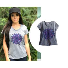 Blusa Roxa Feminina - Camisetas e Blusas no Mercado Livre Brasil f16c2bc1bf863