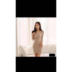 35d9a1163 Vestido De Gala Corto Azul Concepcion - Vestuario y Calzado Rosa en ...