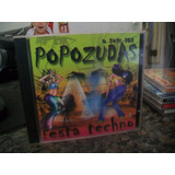 Cd O Som Das Popozudas - Festa Techno