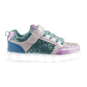 Zapatillas Led Shiny / Carga Usb / Footy #hipotonos