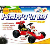 Auto Karting A Pedal Con Aleron Jem Gm1018a