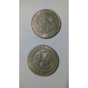 Moneda De 20 Pesos Cultura Maya, 1980-1981-1982