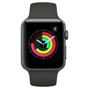 Apple Watch Series 3 42mm Gps Mql12ll/a Space Relógio Novo