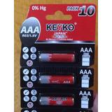 Baterías Triple Aaa Marca Keyko 1,5 V Japonesas