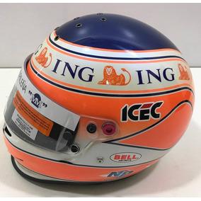 Capacete De Corrida Bell Formula 1 Nelson Piquet Raridade