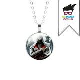 Colar Assassins Creed Altair Ezio Connor Cal Cosplay + Caixa