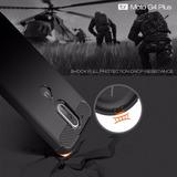 Capa Capinha Anti Impacto Fibra Fosca Motorola Moto G4 Plus