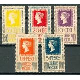 Sc 754 - 758 Año 1940 Centenario Del Primer Timbre Postal En