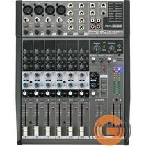Mesa Som Phonic Am 1204fx 8 Canais Efeito - Goias Musical