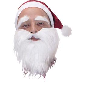 Barba De Santa Claus, Disfraces Navidad, Papa Noel