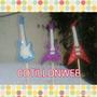 Guitarras Gibreadas X 3 Rock And Roll Centro De Torta