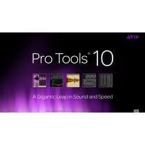 Pro Tools Hd 10 Samples Plugins + Curso