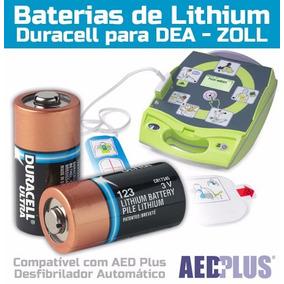 Kit C/10 Baterias Duracell Ultra Lithium Dl-123 (cr17345) 3v