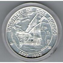 Portugal Moneda Encuentro Dos Mundo Año 1992