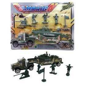 Soldados De Plástico - Brinquedo - Guerra - Policia