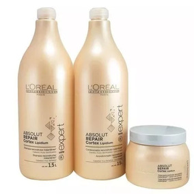Loreal Absolut Repair Kit Shampoo Condicionador E Mascara