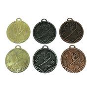 100 Medallas Deportivas Gimnasia Rítmica Artística 3,5cm